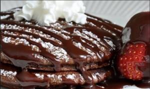 Συνταγή για λαχταριστές τηγανίτες σοκολάτας!