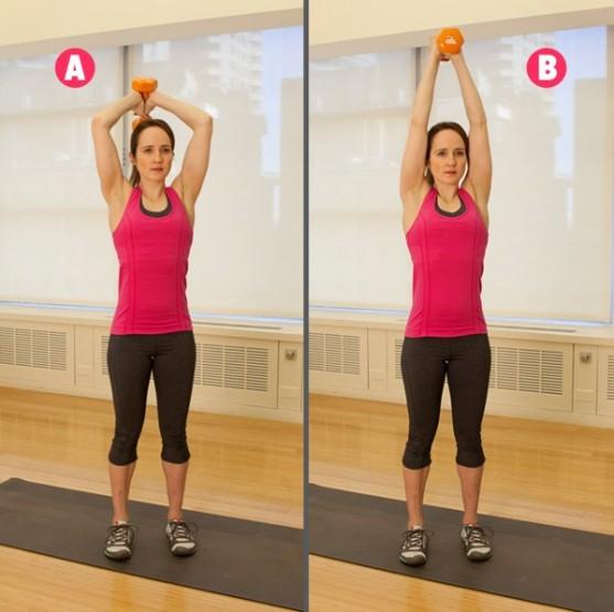 Οι 5 καλύτερες Ασκήσεις για να γυμνάσεις χέρια και ώμους!