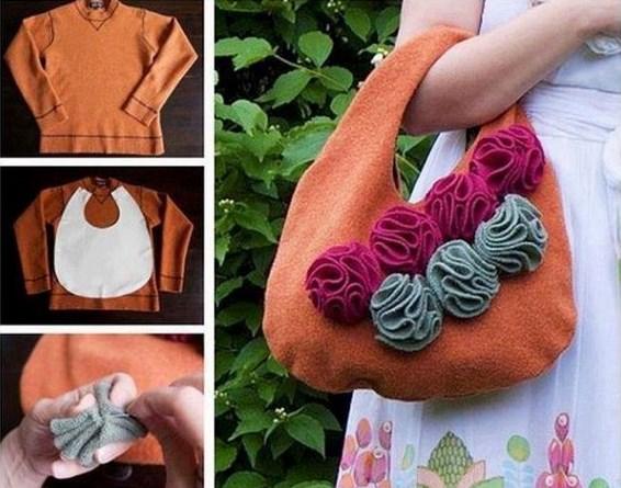09e15514c8fa Τι μπορείτε να φτιάξετε από ένα παλιό πουλόβερ! - mother.gr
