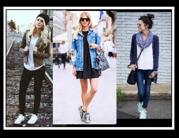 10 Τρόποι για να φορέσεις τα Sneakers σου!