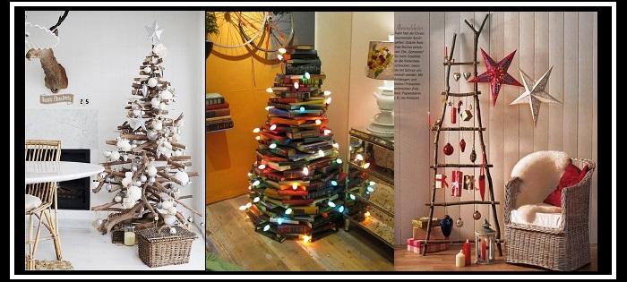 20+1 Έξυπνες ιδέες για DIY Χριστουγεννιάτικα δεντράκια!
