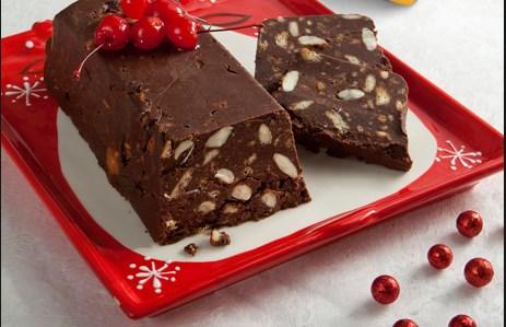 Συνταγή για Χριστουγεννιάτικο κορμό (μωσαϊκό) σοκολάτας!