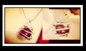 Χειροποίητα κοσμήματα: Πως να φτιάξεις εύκολο κολιέ με πέτρα!