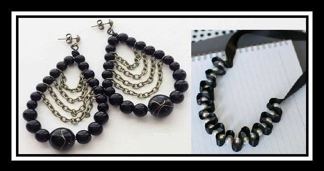 DIY: Handmade σετ σκουλαρίκια και κολιέ από χάντρες!