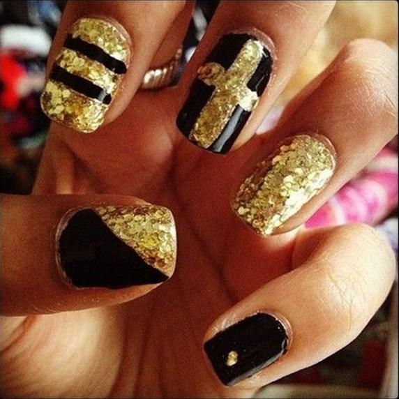 gold nails ediva.gr