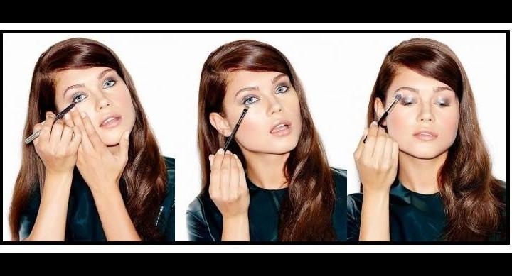 Εντυπωσιακό μεταλλικό make up σε 4 βήματα!