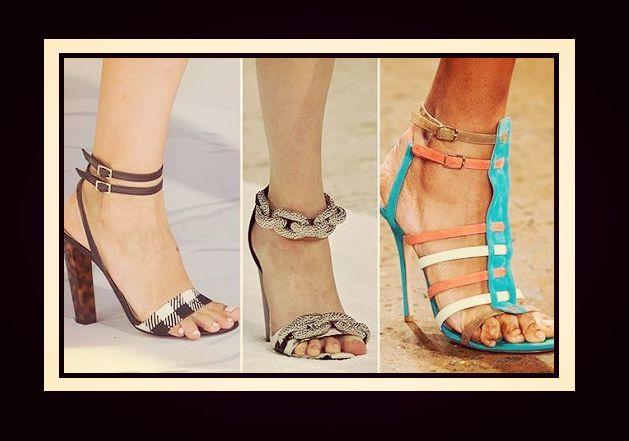 Η μόδα στα γυναικεία παπούτσια Άνοιξη - Καλοκαίρι 2015!