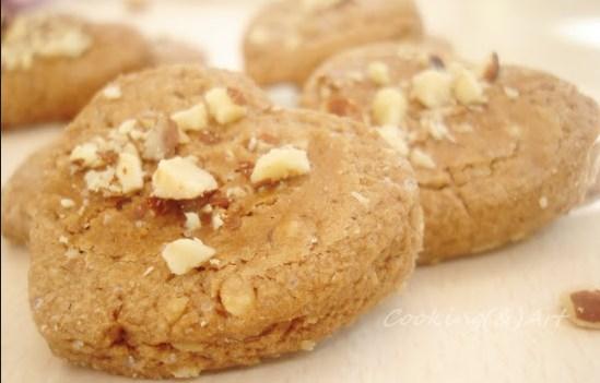 Συνταγή για νηστίσιμα μπισκότα χωρίς γάλα και αυγά