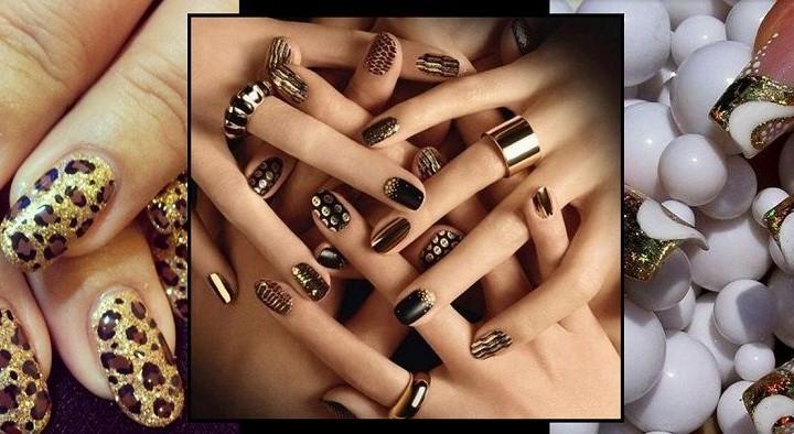 32 Χειμωνιάτικα σχέδια για νύχια με glitter!