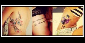 18 Όμορφα σχέδια για τατουάζ στα πλευρά!