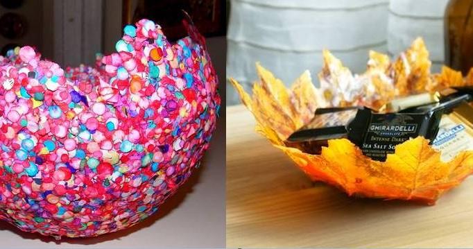 DIY: Φτιάξε μόνη σου διακοσμητικά μπολ με μπαλόνια