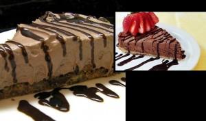 Συνταγή: Σοκολατένιο Cheesecake (τσίζκεικ) χωρίς ψήσιμο!