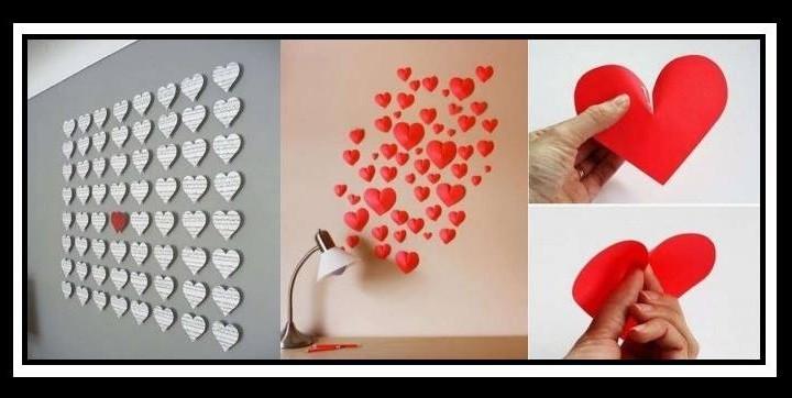 13 Έξυπνες ιδέες διακόσμησης τοίχου από χαρτί!