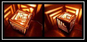DIY: Φτιάξε μόνη σου φωτιστικό από χαρτόνι!