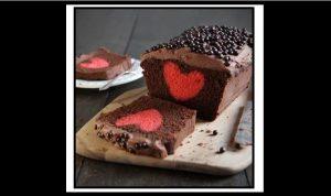 Εύκολη συνταγή για κέικ με γέμιση καρδιάς!