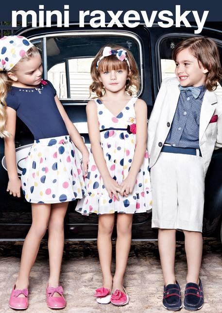 29ff9341771 Ανοιξιάτικα και καλοκαιρινά παιδικά ρούχα Mini Raxevsky!