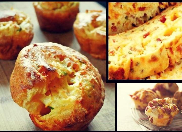 Εύκολη συνταγή για Αλμυρά muffins (κεκάκια)