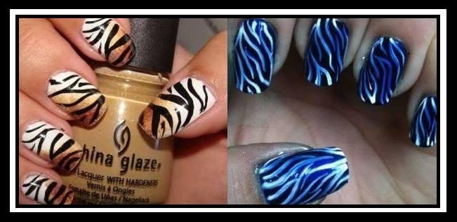 19+1 Εντυπωσιακές ιδέες για Animal Print νύχια!