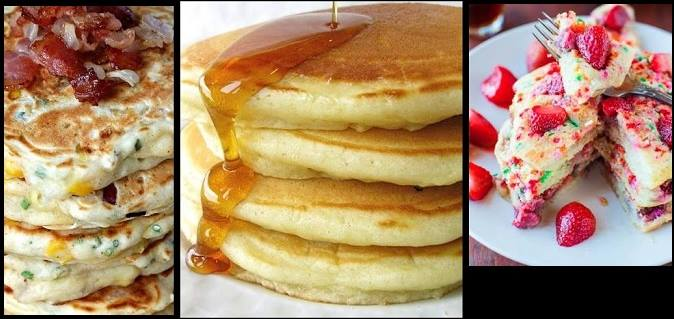 Συνταγή για αφράτα Pancakes (Τηγανίτες)!