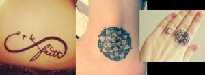 21 Ιδέες για μικρά τατουάζ και η σημασία τους!