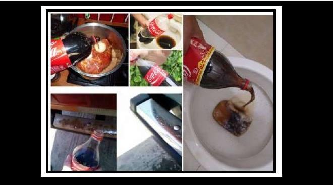 20 Διαφορετικοί τρόποι για να χρησιμοποιήσεις την Coca Cola!