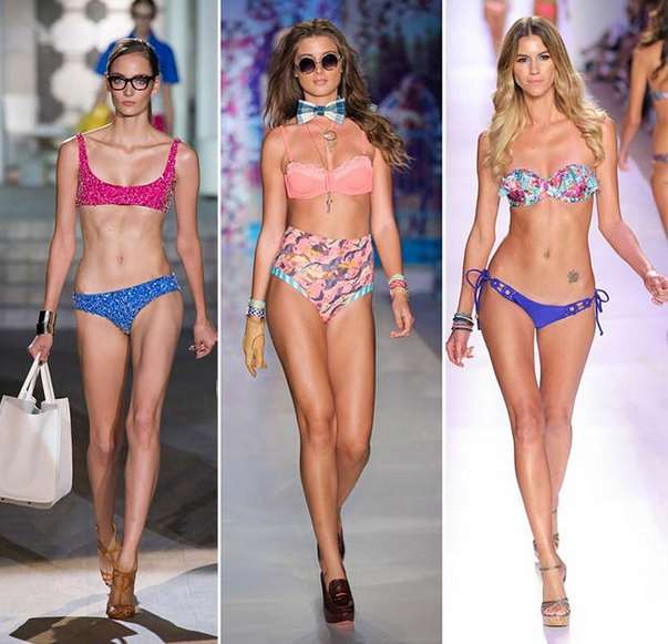 Mismatched Bikinis 2015