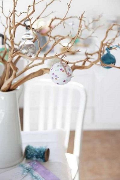 Dry Tree Branch Flower Pot For Home Decor