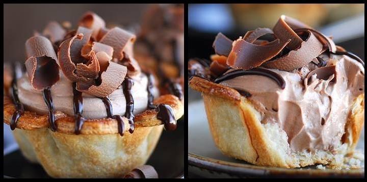 Πως να φτιάξεις νόστιμα ταρτάκια Nutella!