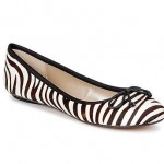 zebra print balarina