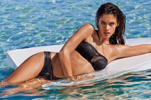 mauro strapless bikini