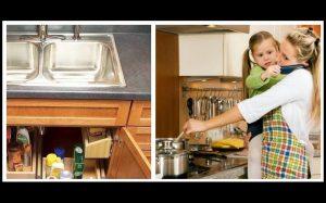 20 Έξυπνοι τρόποι να οργανώσεις μια μικρή κουζίνα!