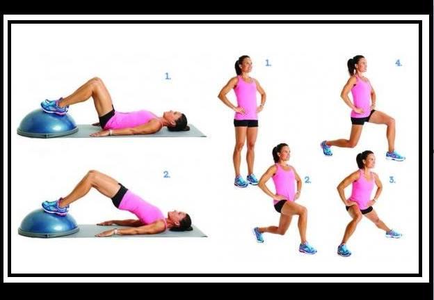 5 Ασκήσεις γυμναστικής για να μειώσεις την κυτταρίτιδα!