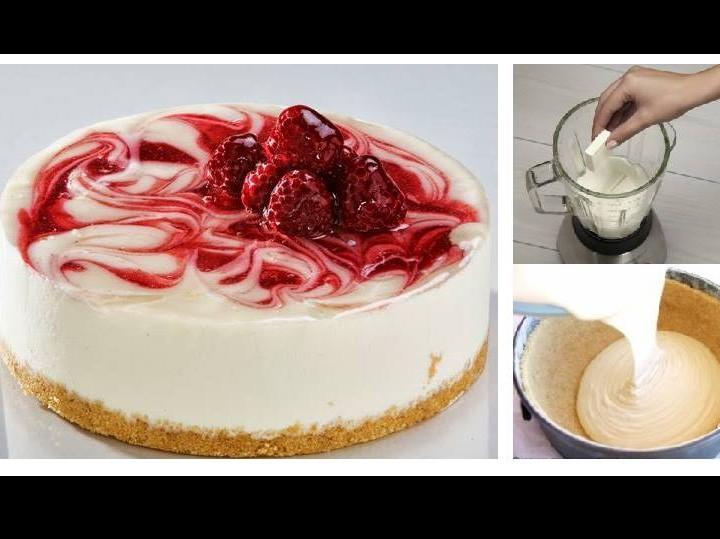 Δροσερό cheesecake παγωτό!