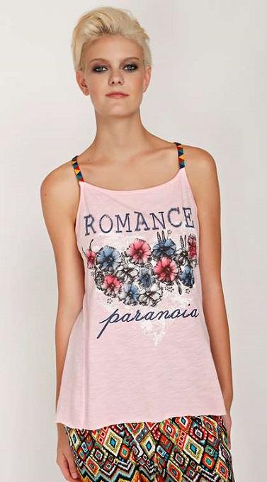 8688df84c420 Γυναικείες μπλούζες Paranoia Καλοκαίρι 2015