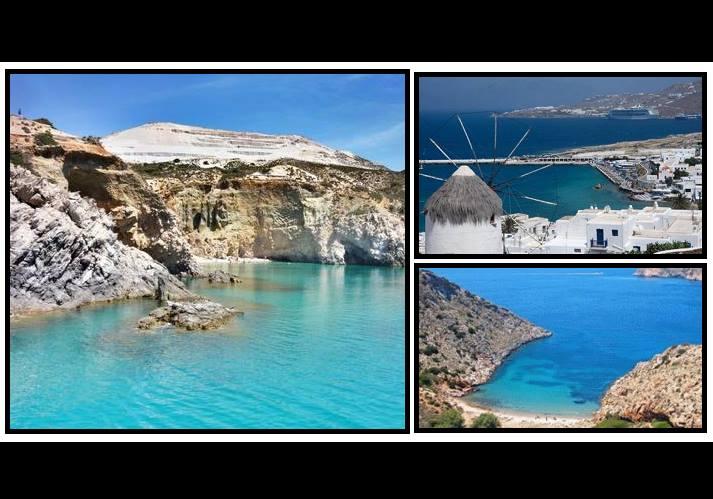 7 Νησιά των Κυκλάδων για τις διακοπές σου!