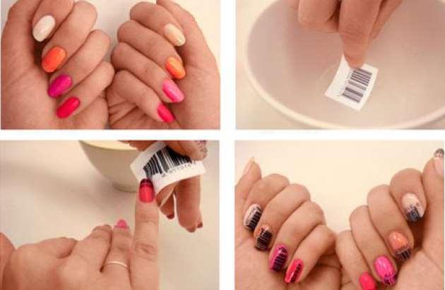 65a7c6c13b43 DIY  Πως να κάνεις μόνη σου 2 μοναδικά σχέδια νυχιών!