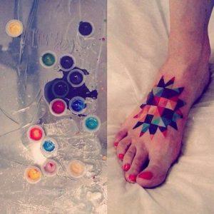 geometriko tattoo