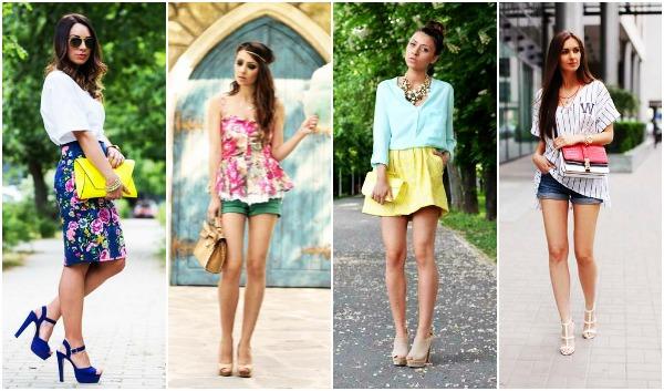6 Συνδυασμοί χρωμάτων για το Καλοκαίρι!