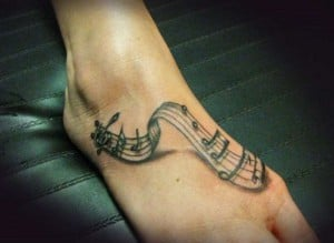 tattoo musikis