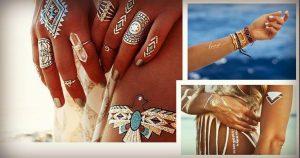 Flash Tattoos: Η νέα εντυπωσιακή καλοκαιρινή μόδα!