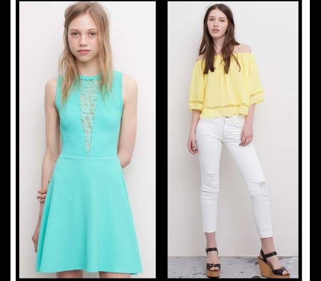 Γυναικεία ρούχα Pull and Bear καλοκαίρι 2015!