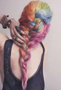 rainbow hairstyles