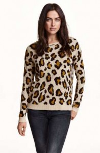 animal print blouzes