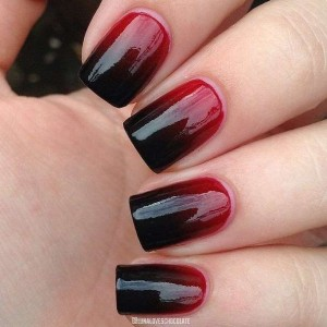 ombre nail art fthinoporo 2015