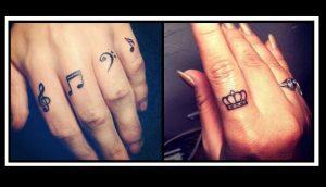 28 Εκπληκτικές ιδέες για γυναικεία τατουάζ στο δάχτυλο!
