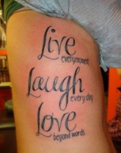 live-laugh-tattoo