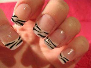 nimal print zebra manikiour