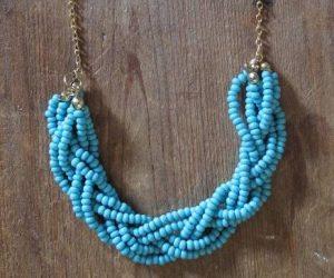 Φτιάξε ένα χειροποίητο κολιέ πλεξούδα (braided necklace)