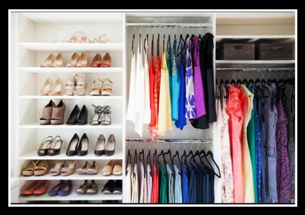 6 Τρόποι να οργανώσεις τη ντουλάπα σου!
