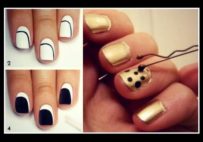 9 Nail art για κορίτσια που βαριούνται!